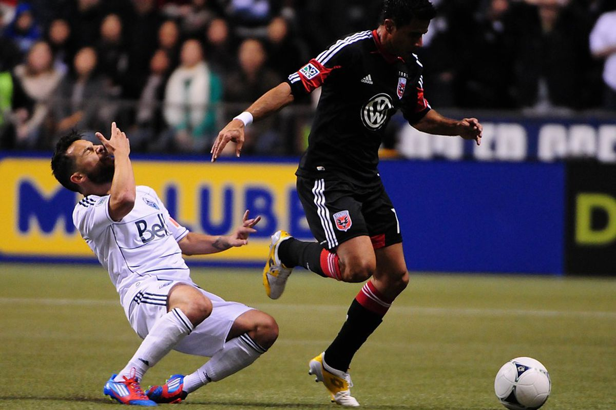 Marcelo Saragosa may return to the starting 11 for D.C. United in San Jose tomorrow night