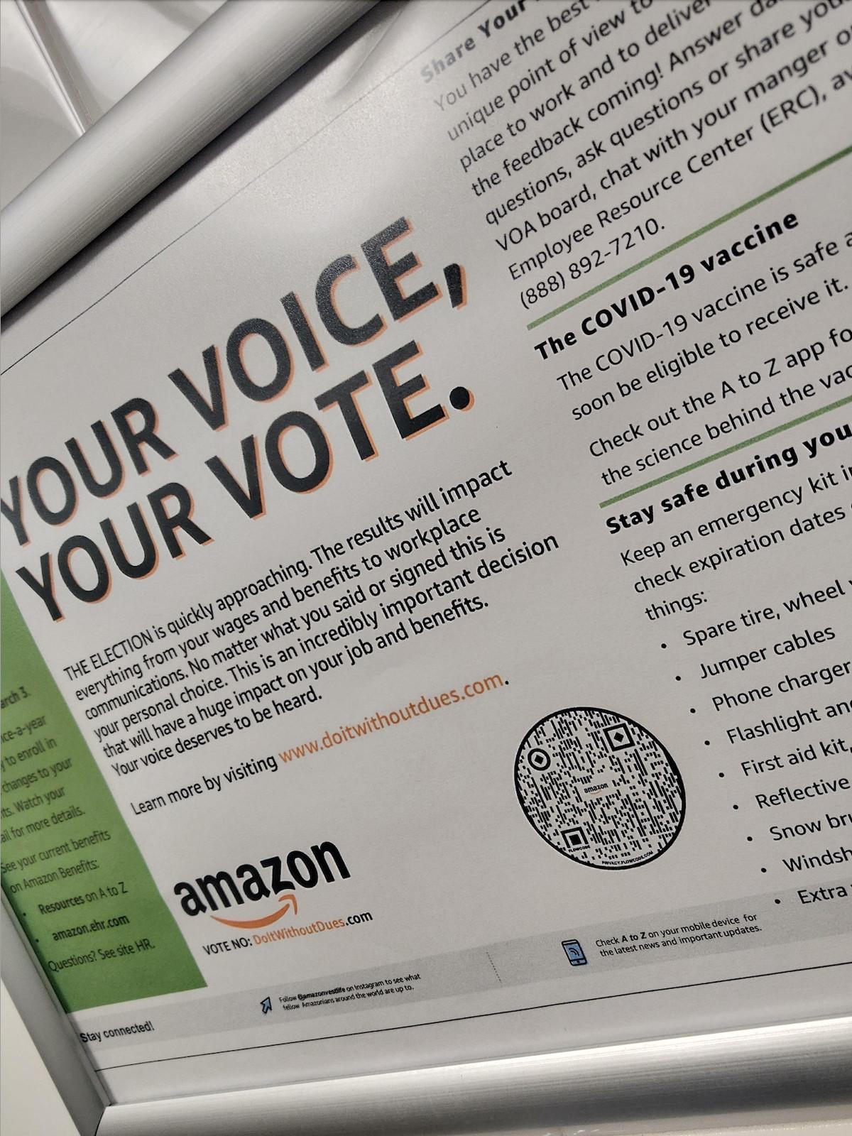 Historic Amazon Union Vote Begins At Alabama Warehouse
