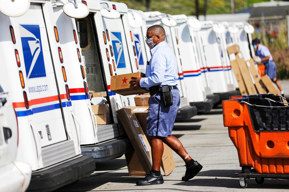 Electric Mail Trucks Get A Big Boost In Democrats Infrastructure