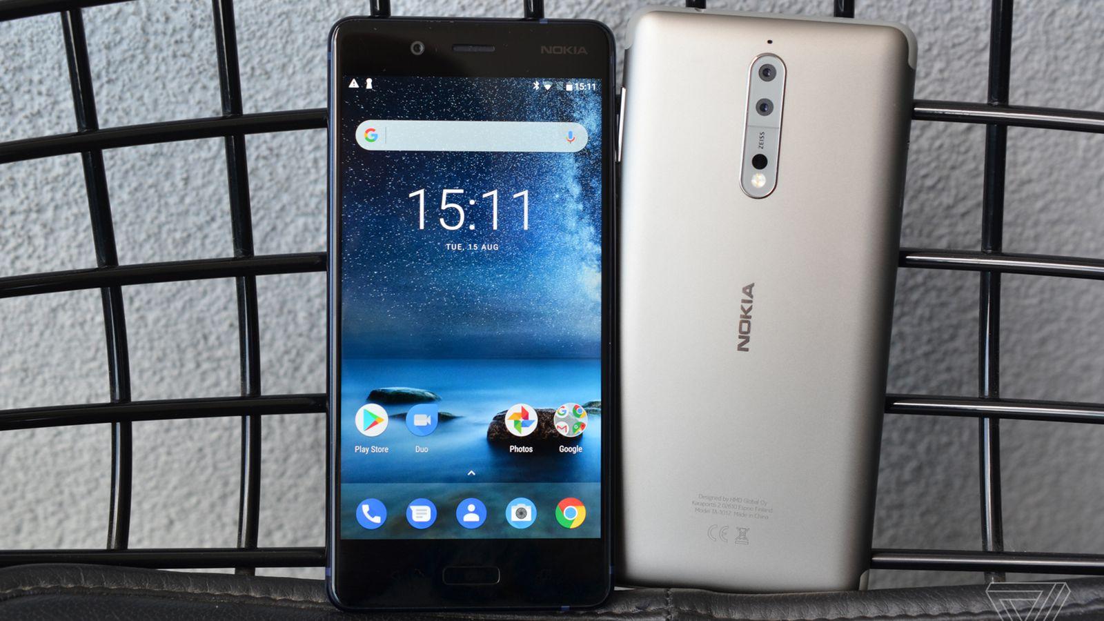 Nokia 8 Ongelmat