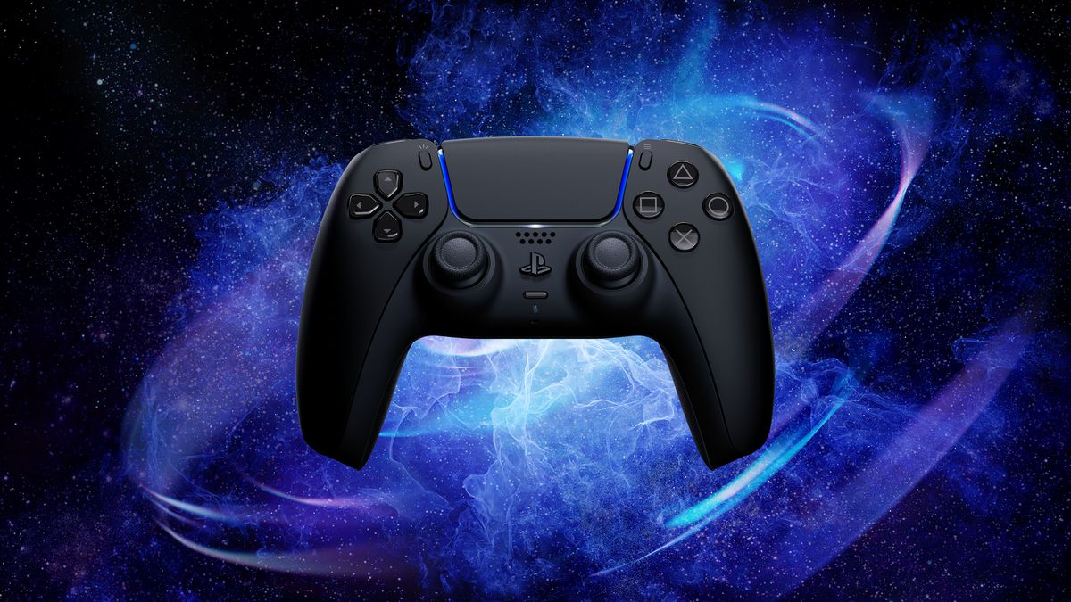 Sony's PlayStation 5 DualSense controller in Midnight Black