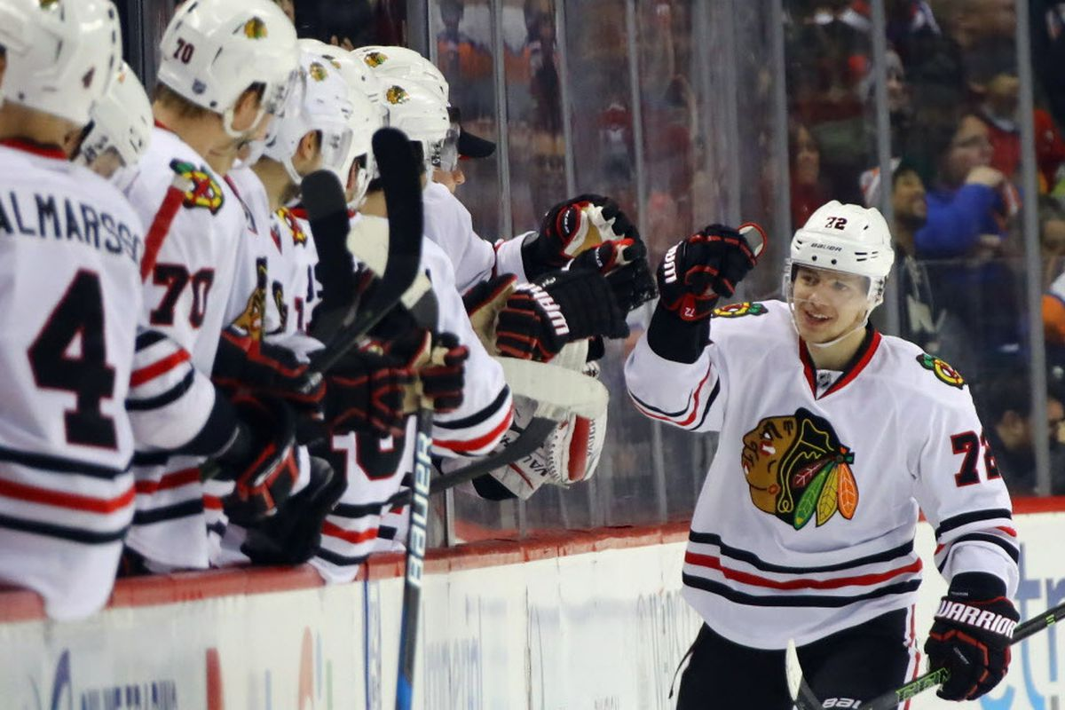 7980698f10c Artemi Panarin has 114 points in 117 games with the Blackhawks. (Getty  Images)