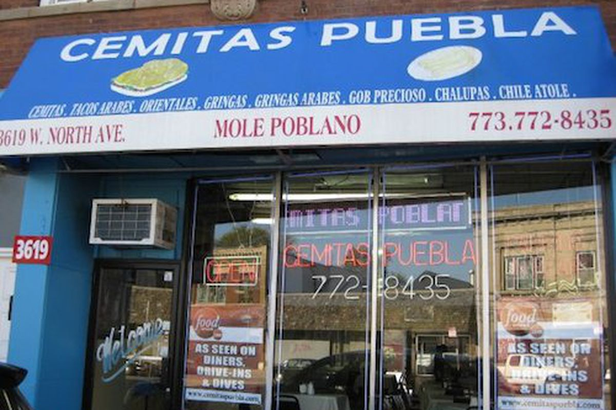 Cemitas Puebla Humboldt Park