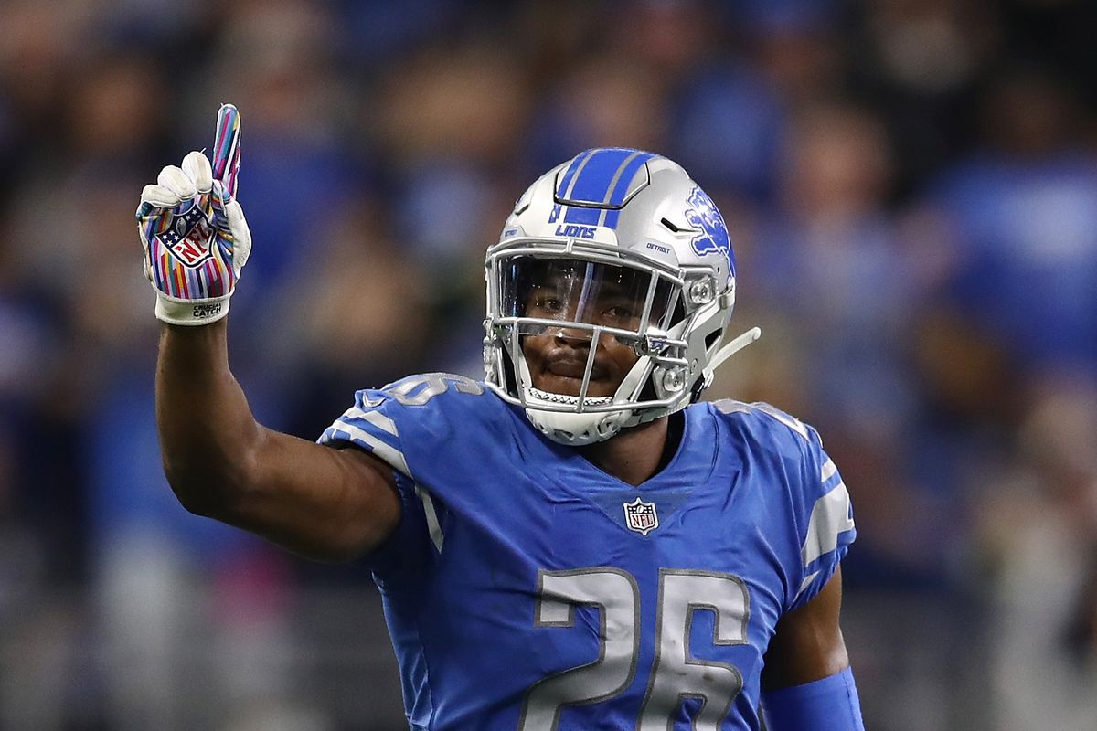 87a12105e NFL Week 7 standings  Detroit Lions are a game out from 1st place in the NFC  North
