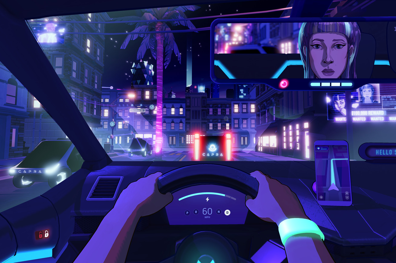 neo cab s first trailer channels cyberpunk uber vibes