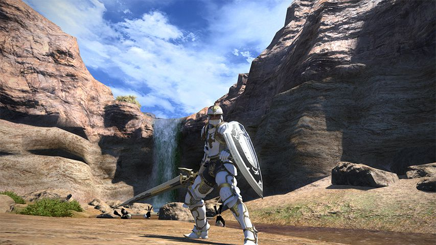 The Paladin from FFXIV