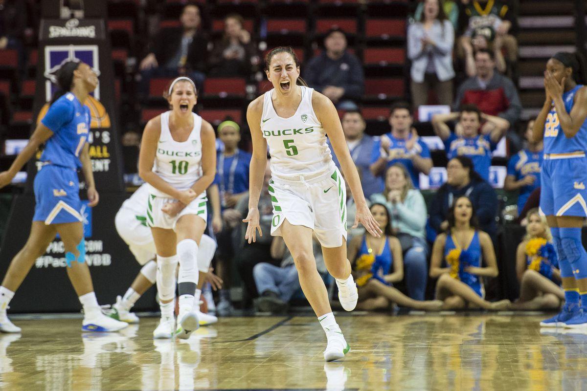 NCAA Womens Basketball: Pac-12 Conference Tournament-UCLA vs Oregon