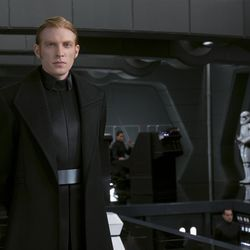 Star Wars: The Last Jedi  General Hux (Domhnall Gleeson)   Photo: David James  ©2017 Lucasfilm Ltd. All Rights Reserved.