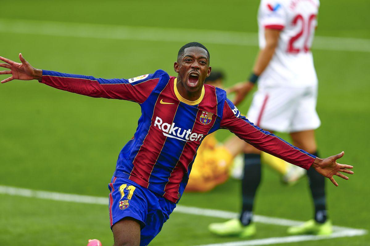 ESP: Sevilla FC-FC Barcelona.  Santander League.