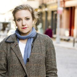 """In this March 29, 2012 photo, actress Lena Dunham poses for a portrait in the Tribeca neighborhood of New York. Lena is the creator and the star in the series, """"Girls,"""" premiering April 15, at  10:30p.m. EST on HBO."""