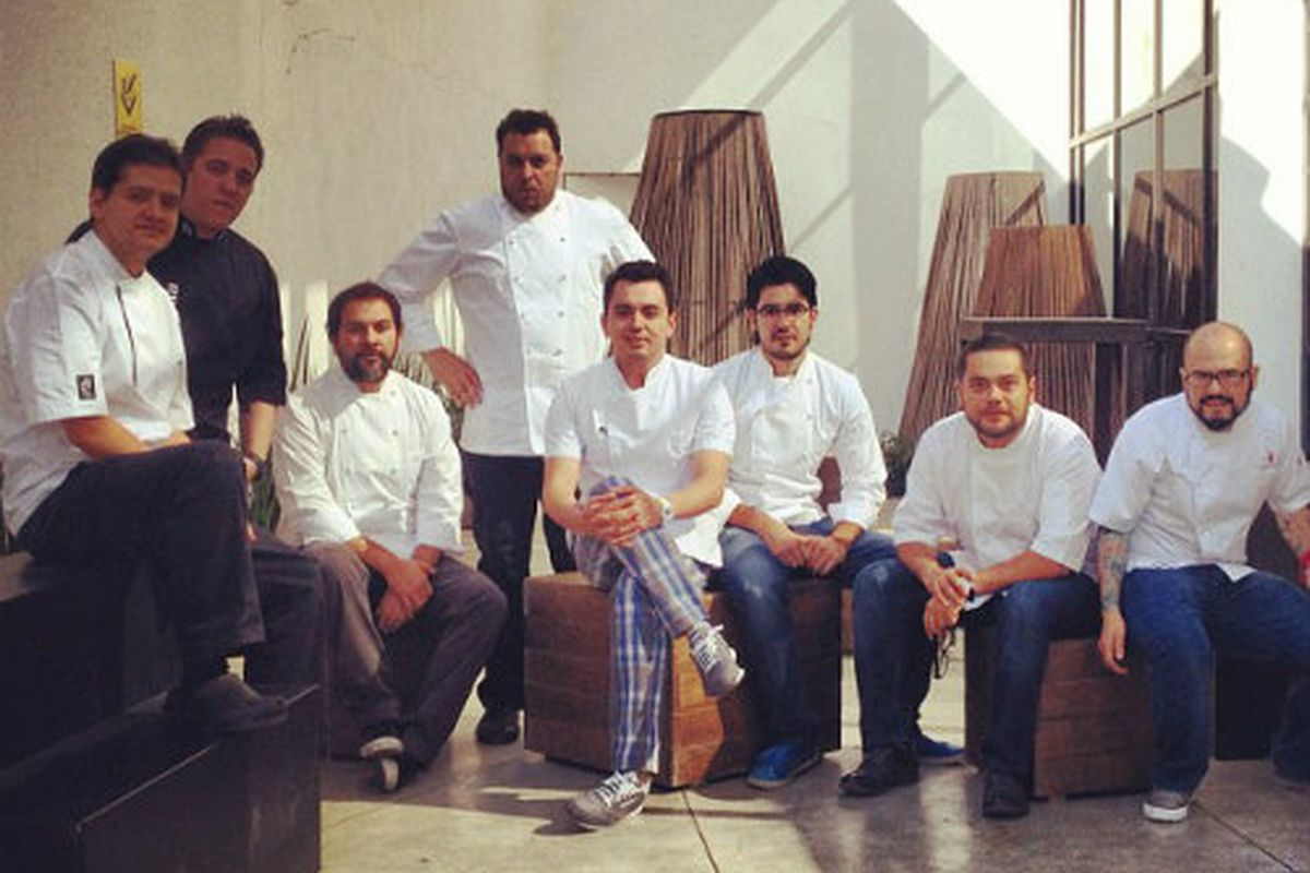 Some of the chefs who will appear at Enrique Olvera's Mesamerica