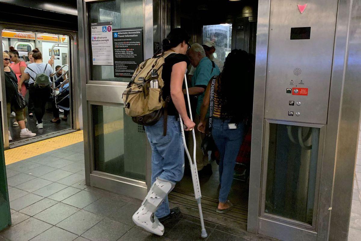 MTA Subway Elevator
