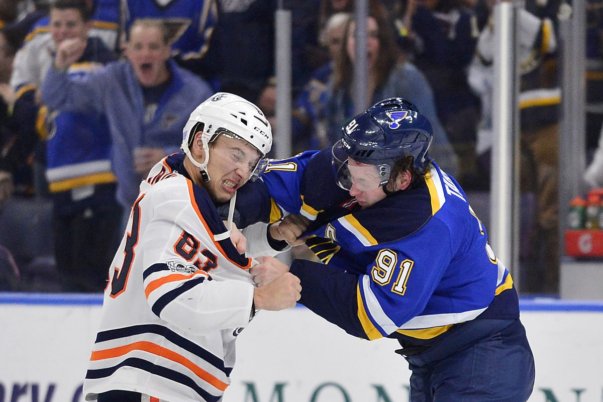 NHL: Edmonton Oilers at St. Louis Blues
