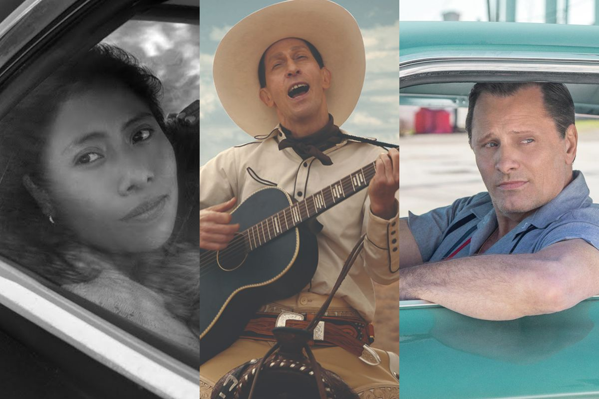 Roma, The Ballad of Buster Scruggs, and Green Book are all awards contenders releasing in November.