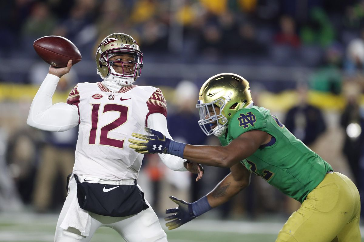 What We Learned On Offense From Florida State S Blowout Loss To Notre Dame Tomahawk Nation