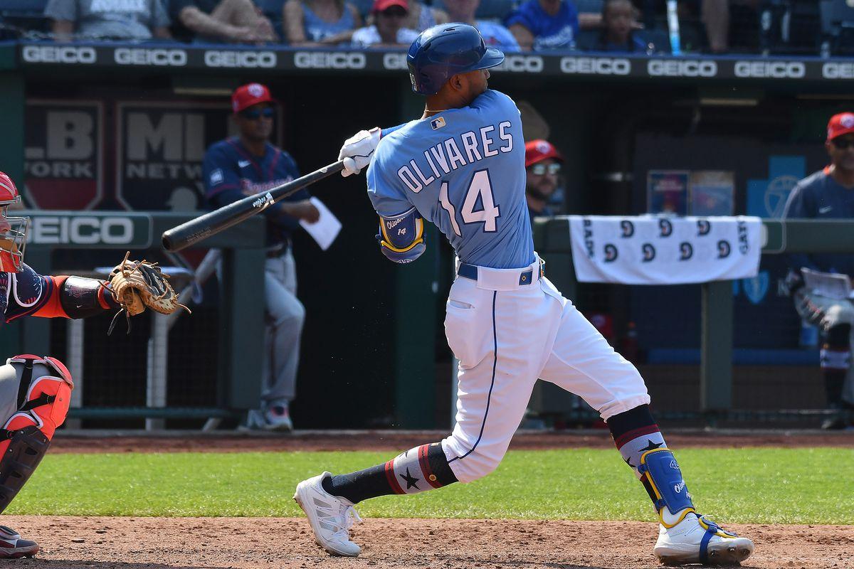 MLB: JUL 03 Twins at Royals