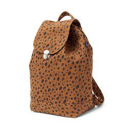 "<strong>Baggu</strong> Backpack in Leopard, <a href=""https://baggu.com/shop/backpack/leopard"">$38</a>"