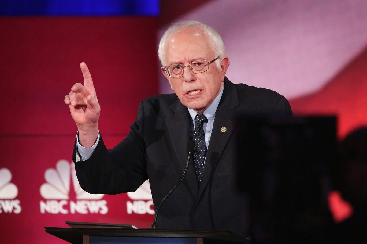 Bernie Sanders had a bad night.