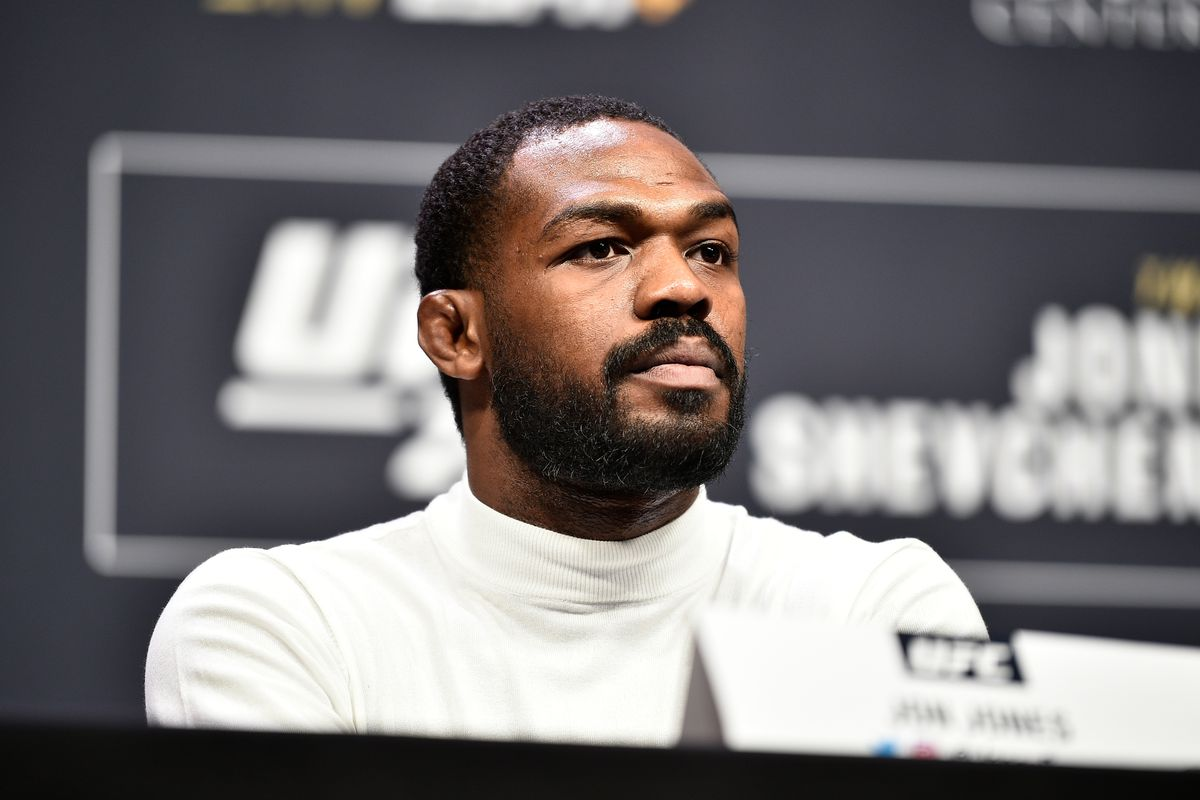 Former long-time UFC champion Jon Jones doesn't see himself fighting any time soon.