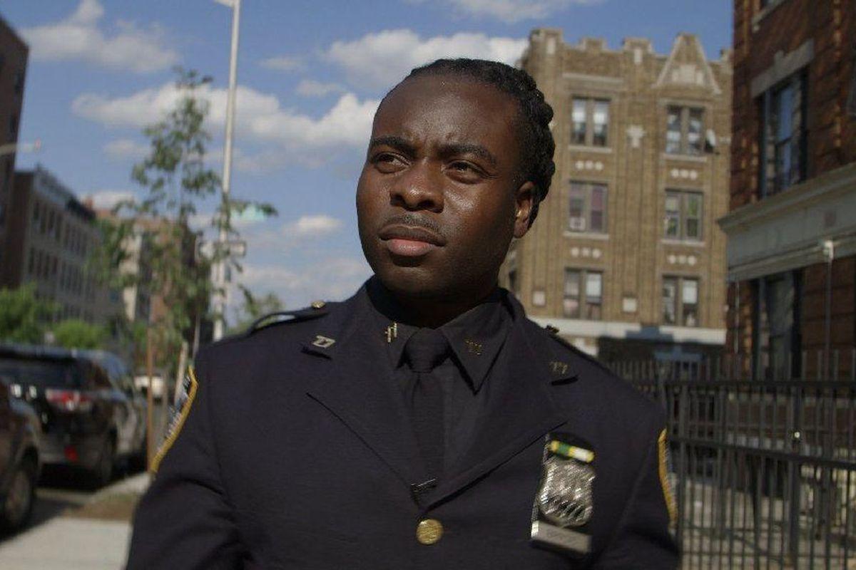 Officer Edwin Raymond in Crime + Punishment.