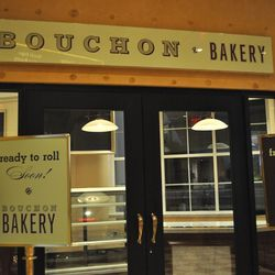 Bouchon Bakery is almost ready to roll.