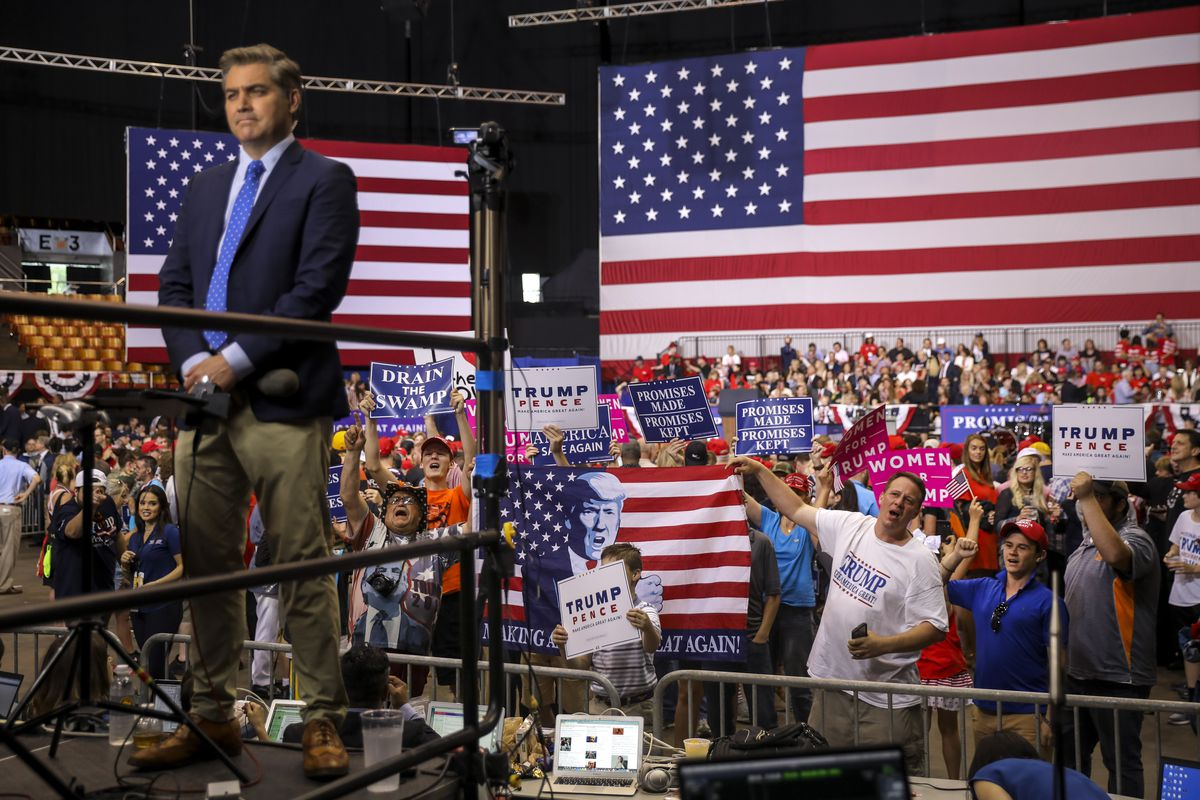 President Trump Holds Rally In Nashville, Tennessee