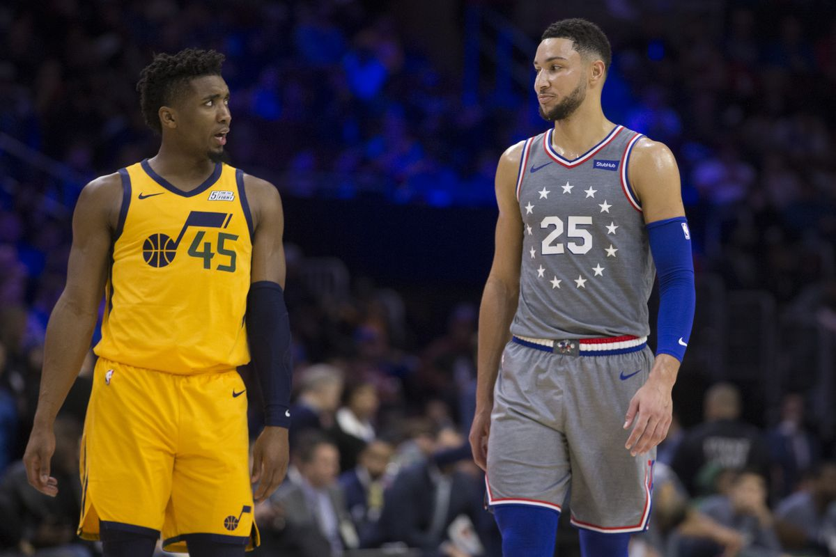 82c4f8d9431 The Ben Simmons-Donovan Mitchell Rookie of the Year beef is ...