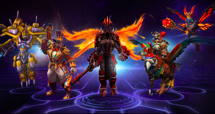 Heroes of the Storm Tempest bundle