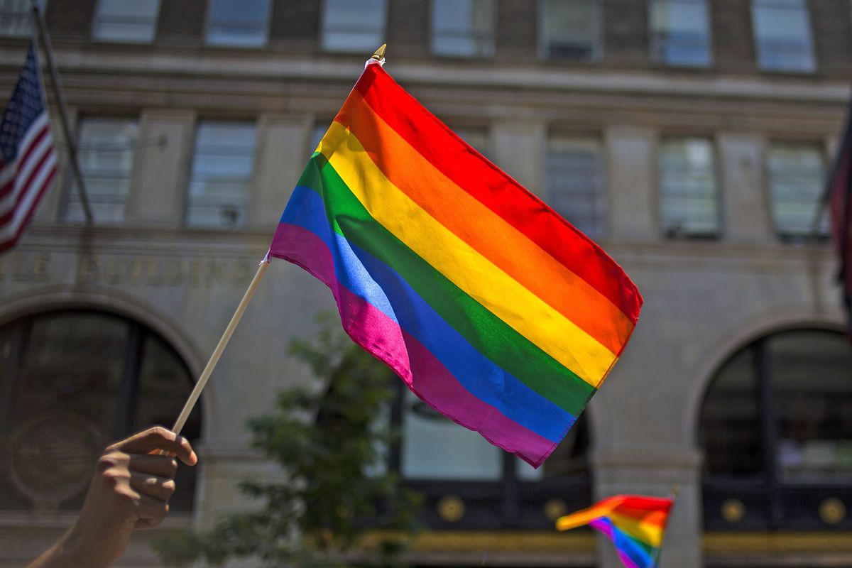 Gay Pride Parade Winds Through New York City