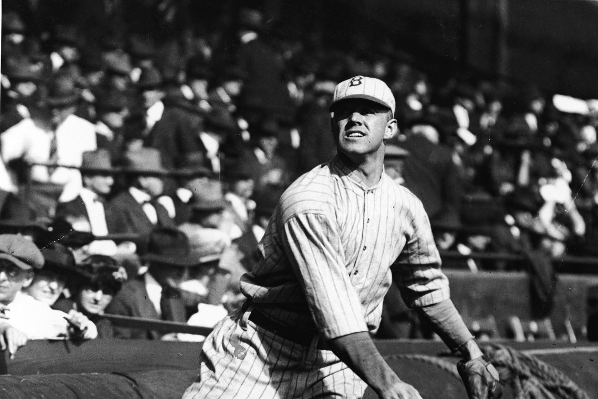 Burleigh Grimes Throws Out Pitch