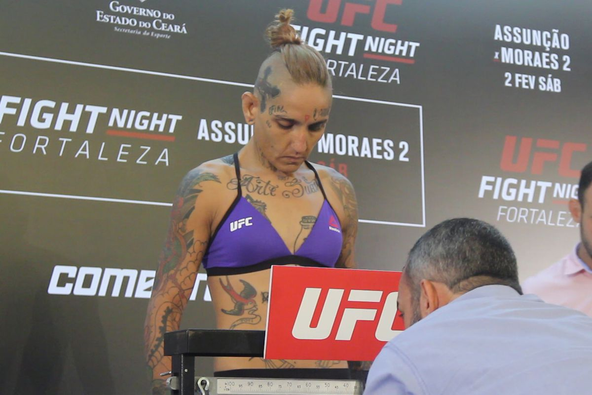 Sarah Frota to move up to flyweight after missing weight at UFC Fortaleza