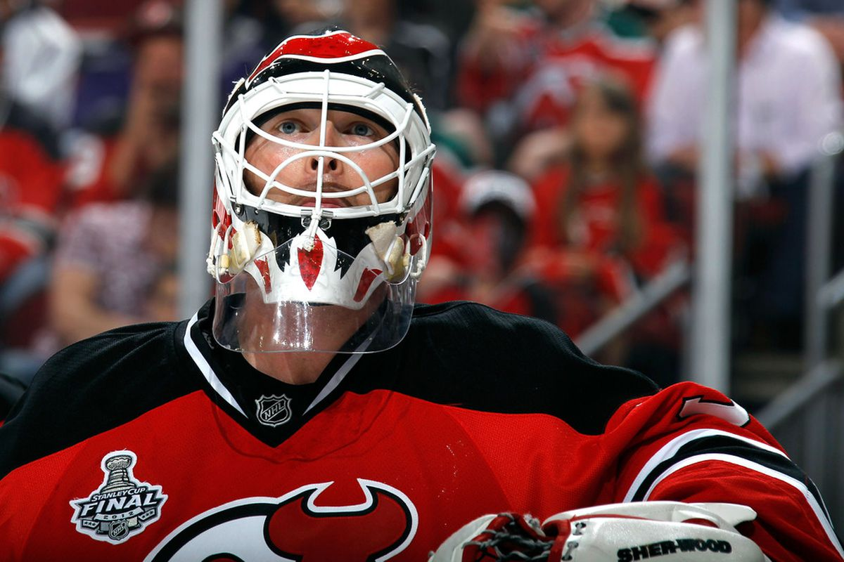 Martin Brodeur: 188 GA in 83 GP in 2011-12 with the New Jersey Devils. This is the summary of that review.  (Photo by Bruce Bennett/Getty Images)