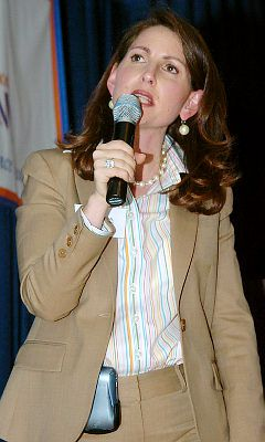 Moskowitz at an enrollment lottery for her schools. New York Daily News photo.