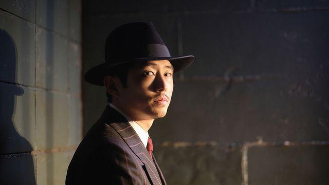 """Steven Yeun in the <em>Twilight Zone</em> episode """"A Traveler."""""""