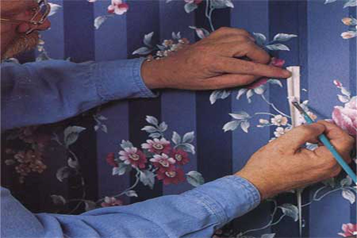 Wallpaper Repairs Made Easy This Old House