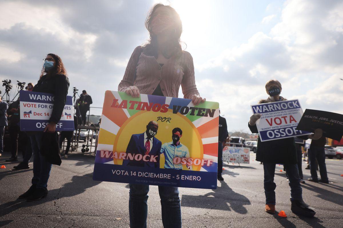 Julián Castro Campaigns With Georgia Senate Candidate Jon Ossoff For Runoff Election