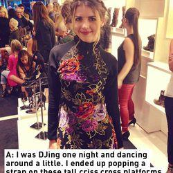 Christina Mannino; DJ/designer, DEIVIE