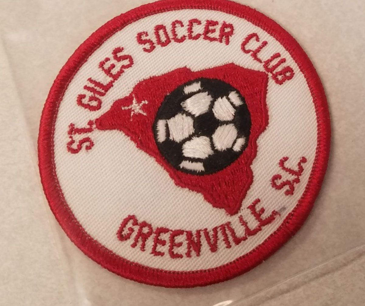 This jacket patch was one of the victim's personal items which was never found. | Illinois State Police