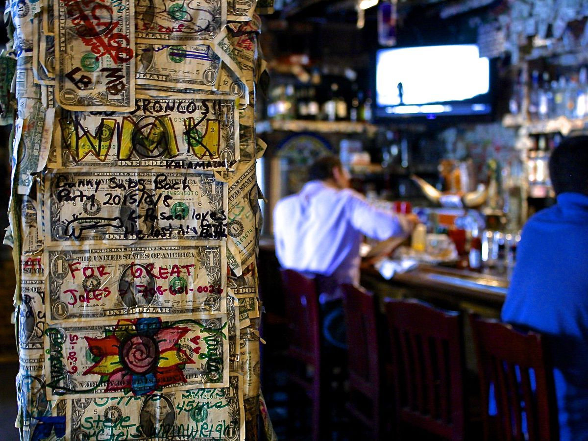 Hide From The Heat In These Charleston Dive Bars - Map of dive bars in us