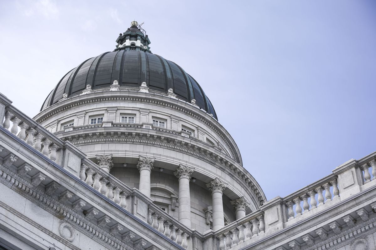 The Capitol in Salt Lake City is pictured on Friday, Jan. 25, 2019.