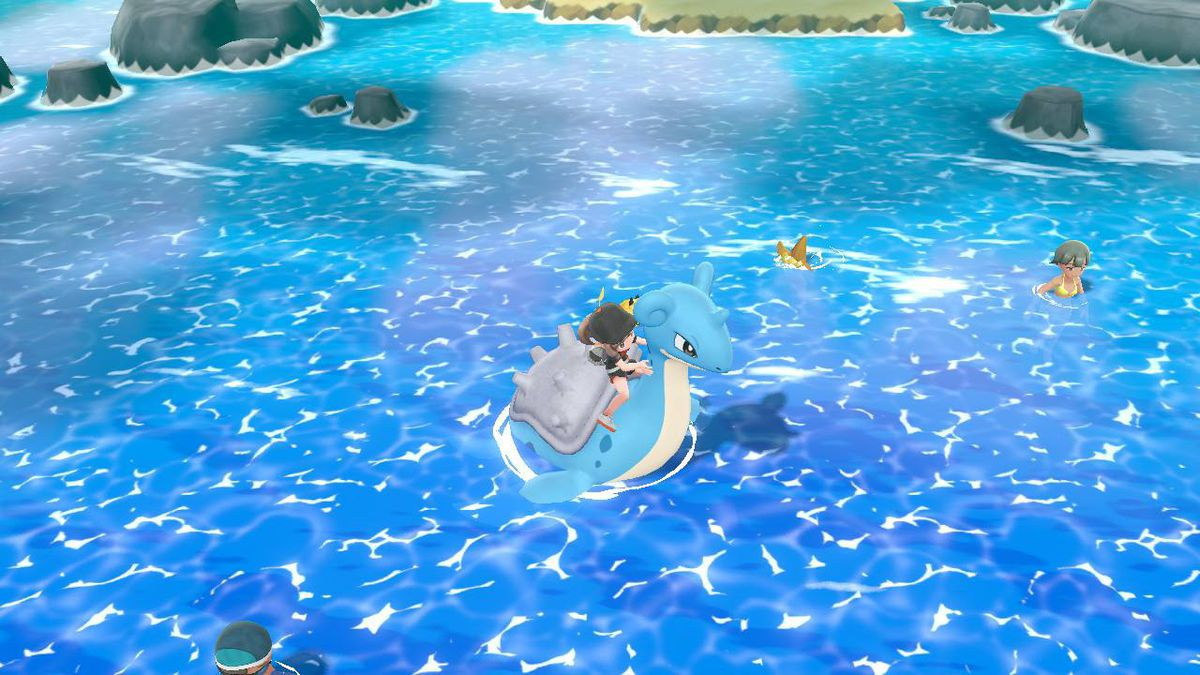 Pokémon Let S Go Which Pokémon Can I Ride On Polygon