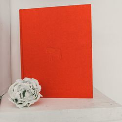 """""""Horse Back,"""" limited-edition book with silver ring on a chain hidden in back pages, $2000"""