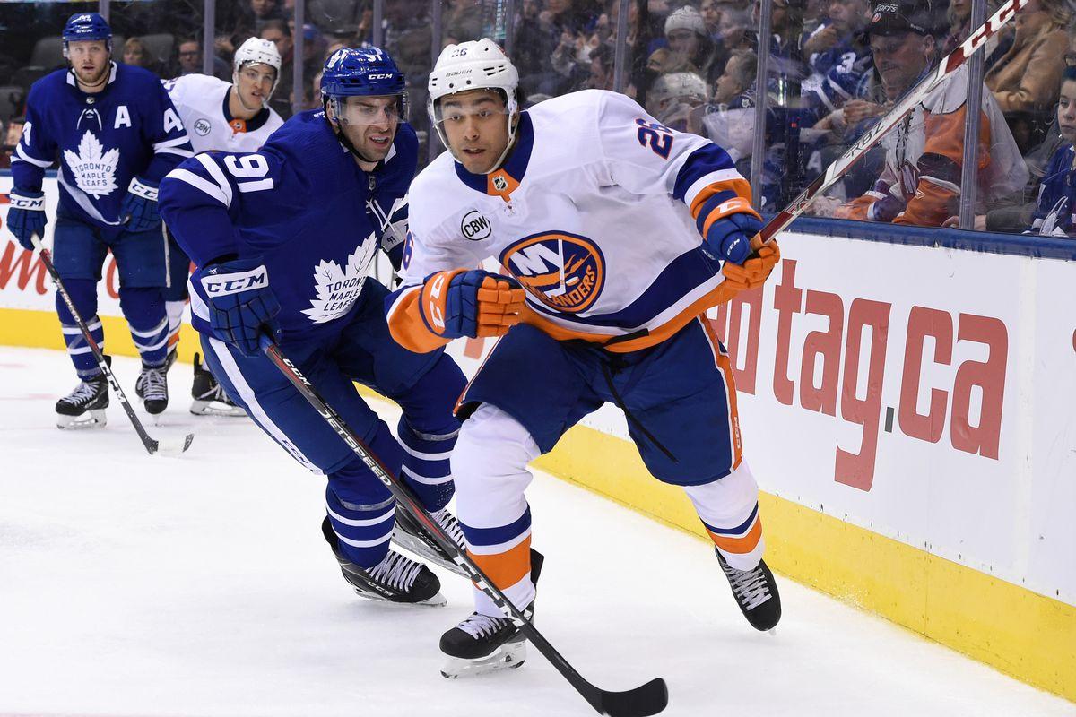 NHL: New York Islanders at Toronto Maple Leafs