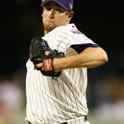 Webb pitches against the American League All-Star during the 77th MLB All-Star Game at PNC Park on July 11, 2006 in Pittsburgh