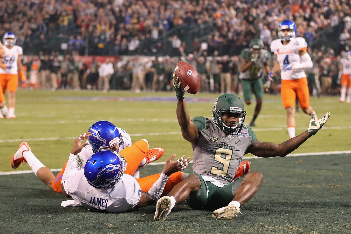 2016 Cactus Bowl Final Score Baylor Rides Wr Kd Cannon To Win Over Boise State Sbnation Com