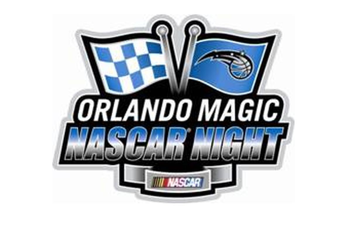 Orlando Magic NASCAR night logo