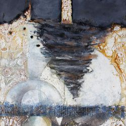 """Cindy Clark's """"Remember, Remember, It is Upon the Rock"""" will be featured in the Springville Museum of Art's """"32nd Annual Spiritual and Religious Art of Utah"""" show."""