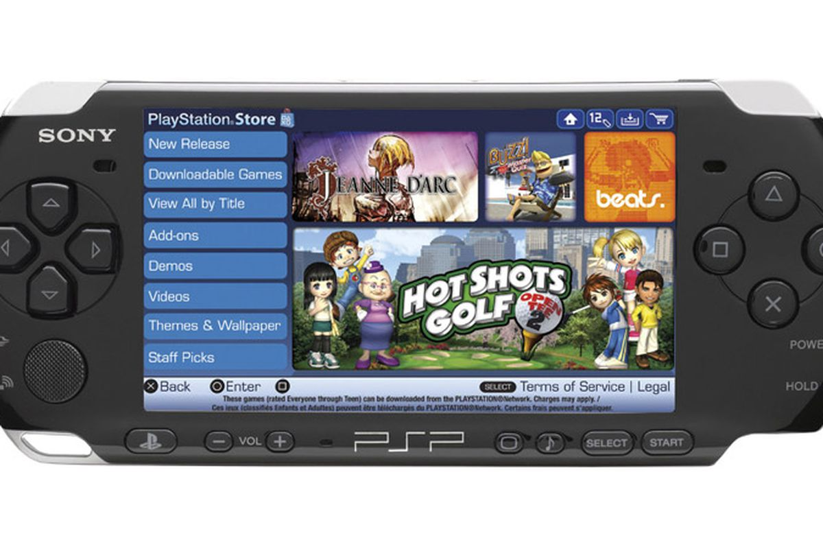 Sony shutting down psp 39 s native storefront polygon for Playstation 5 portable