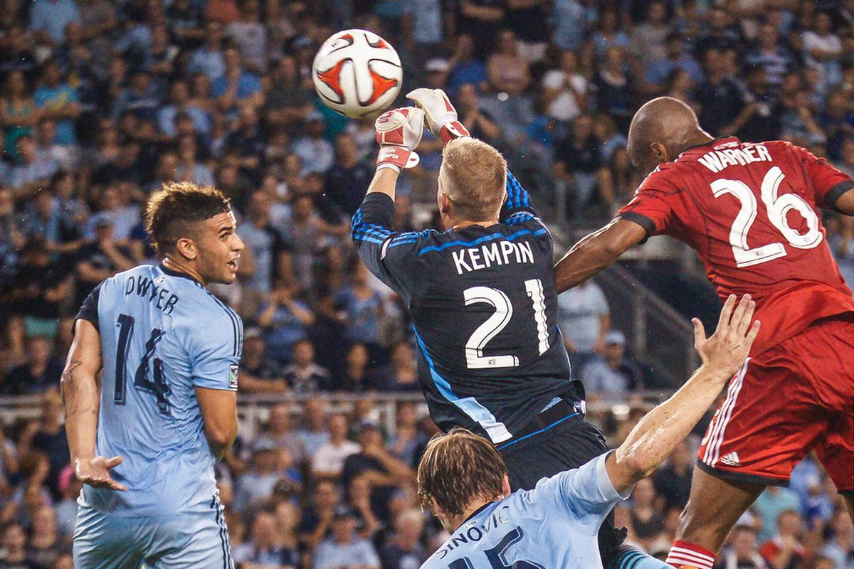 Kempin came up big when he needed to in the SKC win over TFC