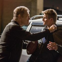 """Clancy Brown (left) and Alexander Ludwig in """"When the Game Stands Tall."""""""